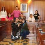 La Escuela de Primavera Adaptaocio visita el Ayuntamiento de Cehegín
