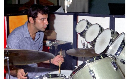 Experto baterista y músico de sesión, nos abandona Hal Blaine