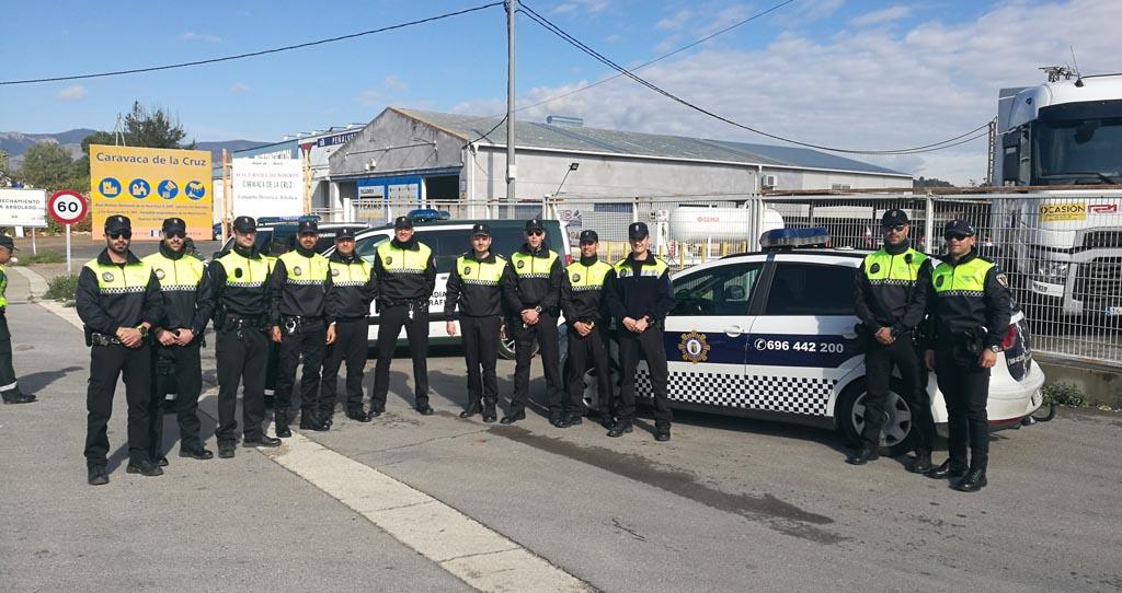 La policía Local de Calasparra se forma en la detección de drogas durante la conducción