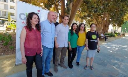 Álvarez-Castellanos: Cambiar la Región de Murcia es la «única garantía» para dar «un giro histórico» hacia la izquierda