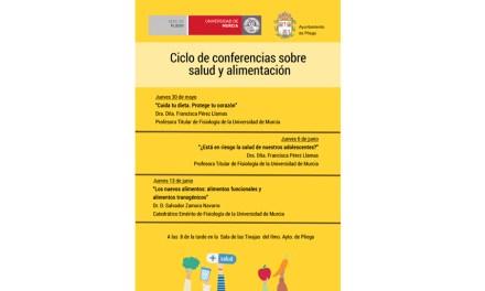 Ciclo de conferencias sobre salud y alimentación en Pliego