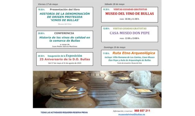 Bullas celebra el Día Internacional de los Museos con visitas guiadas gratuitas