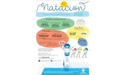 Deportes planifica la campaña 'Aprende a nadar' con dos cursos para niños y otro de perfeccionamiento para adultos