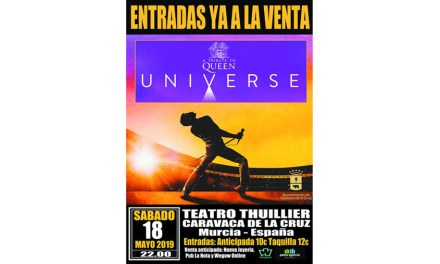 El Thuillier de Caravaca acoge este sábado un concierto tributo a la mítica banda británica 'Queen'