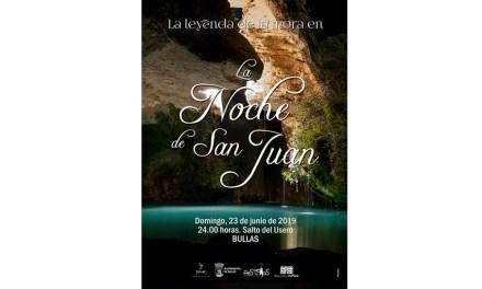 San Juan se celebra en Bullas con la 'Leyenda de la Mora' en la noche más mágica del año