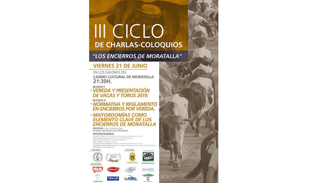 El Casino Cultural de Moratalla acoge el III Cicho de charlas coloquios sobre los encierros de la localidad