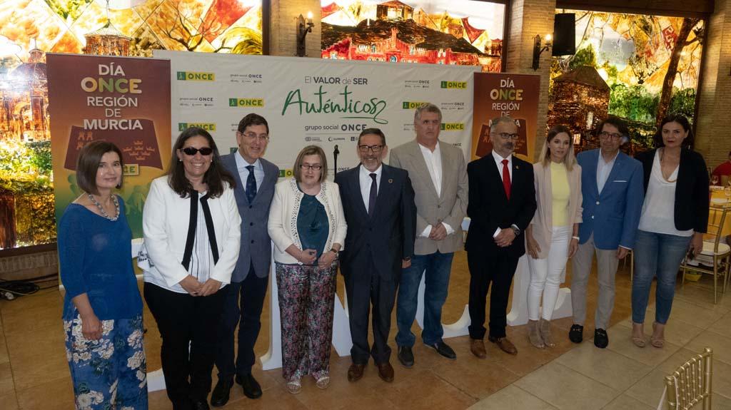 Caravaca acoge el 'Día de la ONCE', con la participación de  más de 400 afiliados, trabajadores y voluntarios