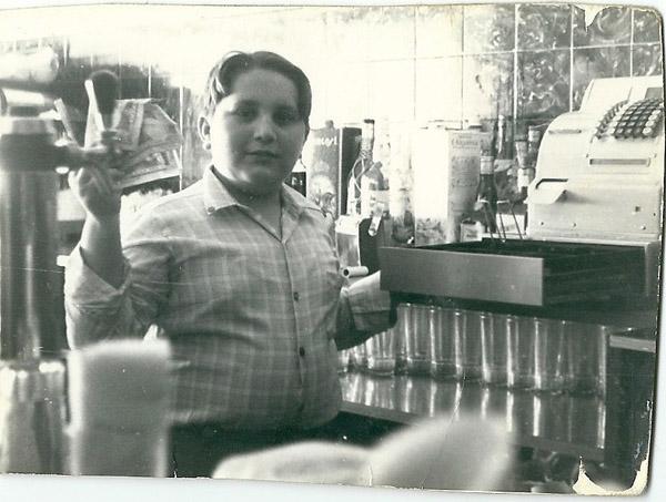 José Manuel, en la barra del Cañota