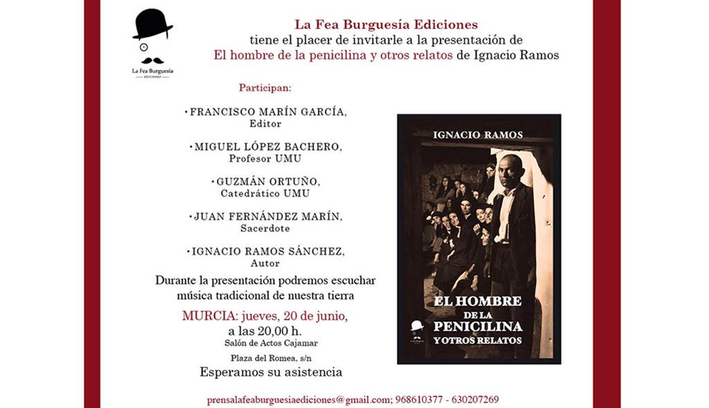La Fea Burguesía presenta hoy jueves en Murcia «El hombre de la penicilina y otros relatos»
