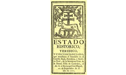 29 de Septiembre de 1772: Incendio en el Castillo de Caravaca
