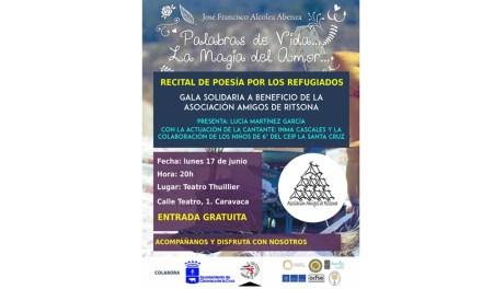 Solidaridad, poesía y artes escénicas se fusionan en el recital de poesía programado por el colegio 'La Santa Cruz'