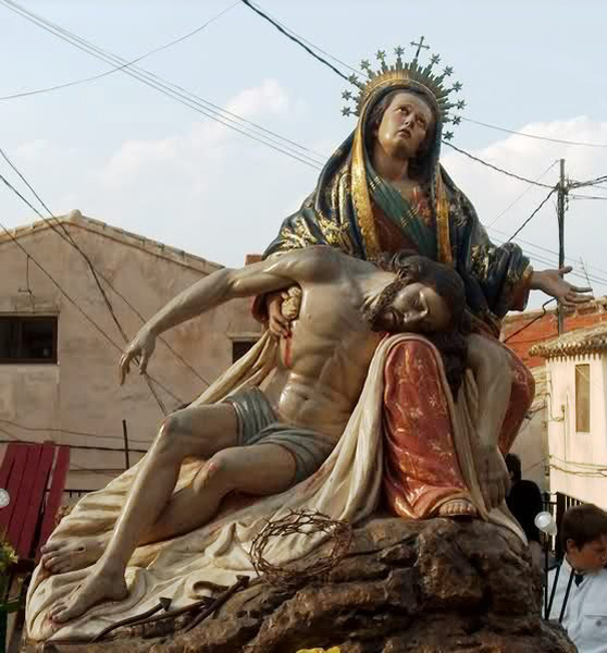 Virgen de las Angustias de Cehegin
