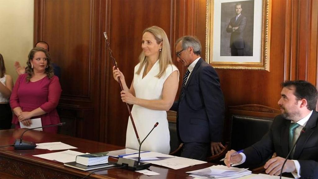 La popular Alicia del Amor, primera alcaldesa de Cehegín