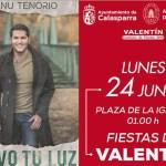 Manu Tenorio presenta el 24 de junio su décimo álbum  en la pedanía murciana de Valentín