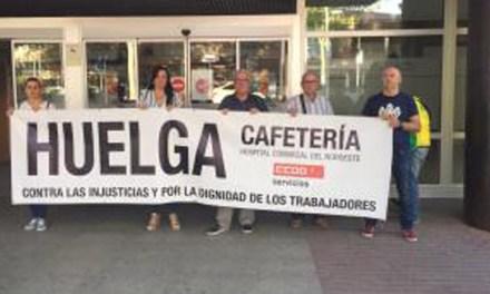 Los trabajadores de la cafetería del Hospital del Noroeste, a la huelga indefinida