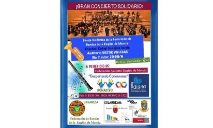 La Federación de Bandas celebra su 35 aniversario con la actuación de su sinfónica en el Auditorio regional Víctor Villegas