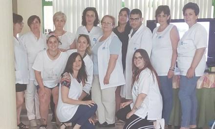 Imparten en Pliego una charla sobre diabetes a trabajadoras de cuidados a mayores