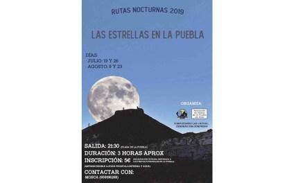Jornadas de senderismo nocturno con motivo de las fiestas de La Puebla