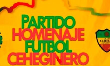 Llega la III Edición del Partido Homenaje al fútbol ceheginero