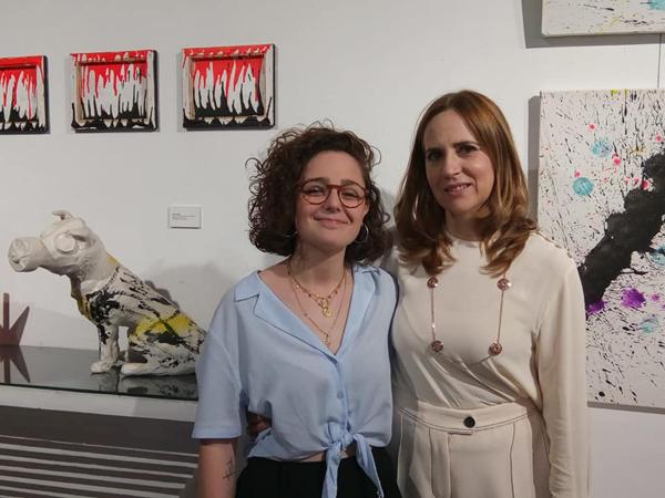 Ana María Puerta y Ana Vacas