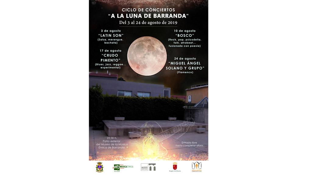 El ciclo 'A la luna de Barranda' comienza este sábado con ritmos de la música latina