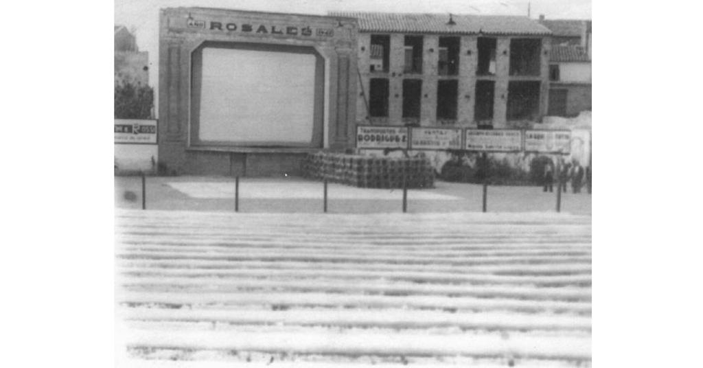 Las cenas del cine Rosales