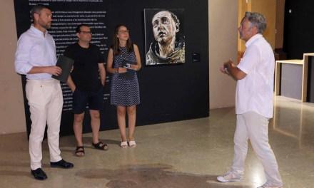Cerca de 8.300 personas han visitado en la Compañía de Jesús 'Deus ex machina' de Santiago Ydáñez