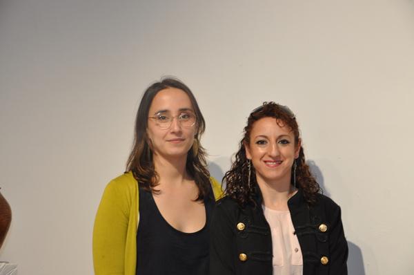 Miriam Tudela y Mar Blázquez