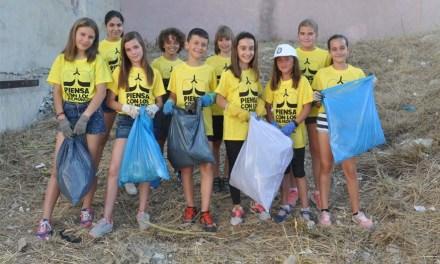 """""""Mi mundo limpio"""", la iniciativa de unos niños de Cehegín para conseguir que su municipio quede libre de basura"""