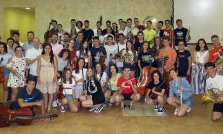 La Joven Orquesta del Noroeste prepara en Caravaca su participación en el festival 'Eurochestries' de Francia