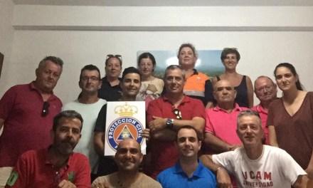 Antonio Huéscar visita las dependencias de Protección Civil