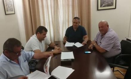 Firmado el convenio de cesión anticipada de la calle y suelo necesario para la construcción del nuevo colegio en Pliego