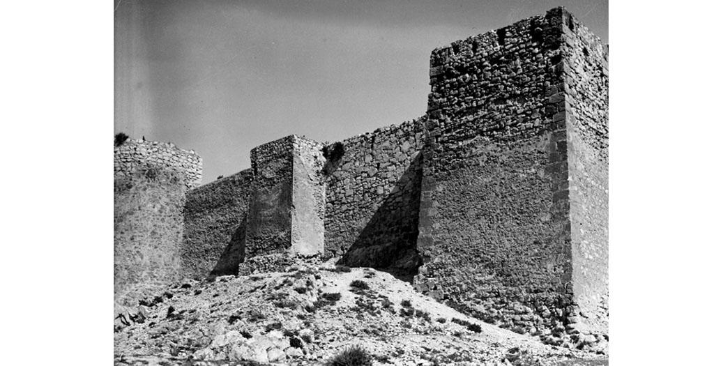 12 de Abril de 1846: Supresión del foso del castillo de Caravaca