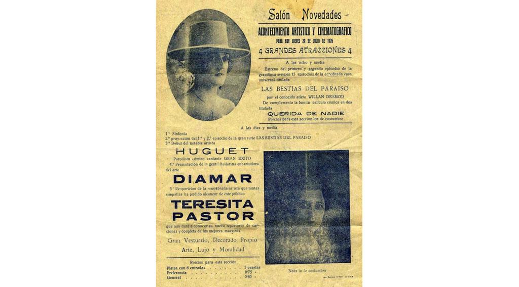 11 de Abril de 1909: Inauguración del Salón Novedades
