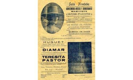 11 de Abril de 1909: Inauguración en Caravaca del Salón Novedades