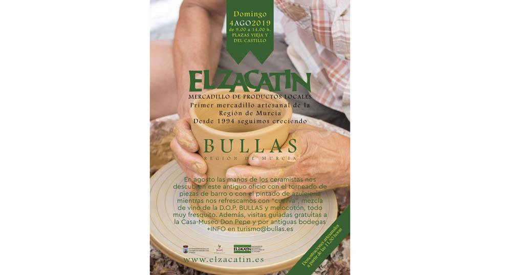 El Zacatín dedica su actividad central en agosto a la cerámica