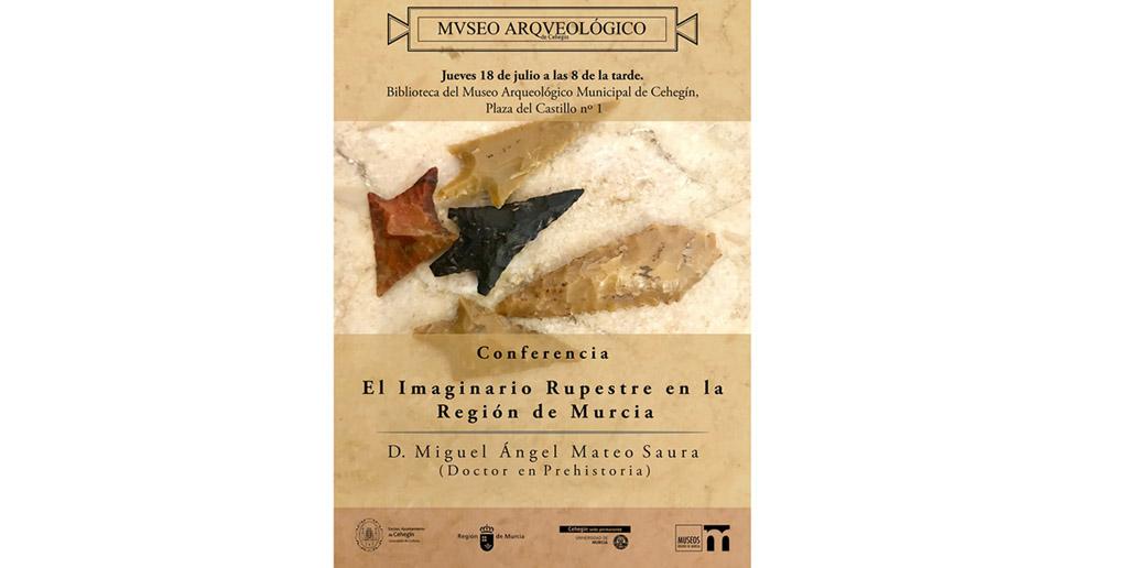 Conferencia en Cehegín sobre el Imaginario Rupestre en la Región de Murcia