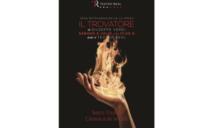 La ópera regresa al Thuillier con la retransmisión en directo desde el Teatro Real de 'Il Trovatore' de Verdi