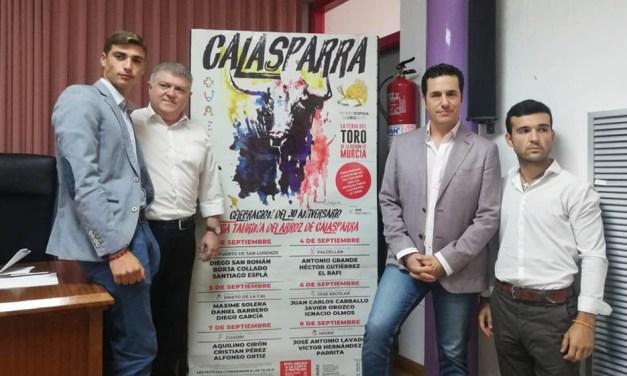 Un lujo de feria para el 30 aniversario de Calasparra
