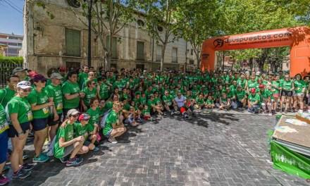 400 personas marchan contra el cáncer en Caravaca