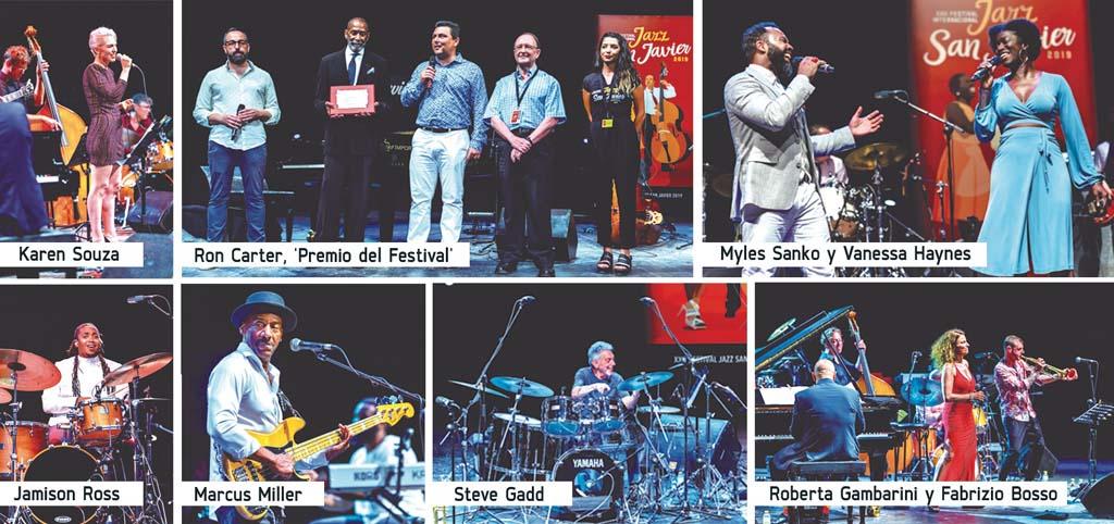 """Ron Carter, """"Premio del Festival"""", en el ciclo de """"Jazz San Javier"""""""