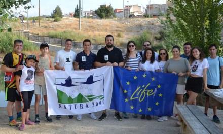 Voluntarios recogen 50 kilos de basura de la ribera del río Argos en Calasparra