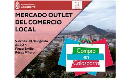 Nueva edición este viernes 30 del Mercado Outlet del Comercio de Calasparra