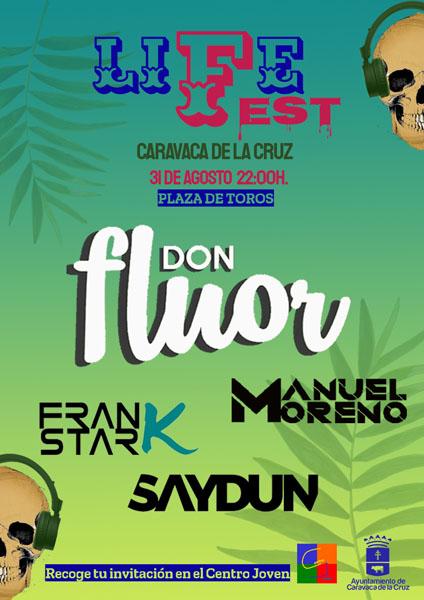 El LifeFest reunirá a los mejores Dj del momento el 31 de agosto en la Plaza de Toros