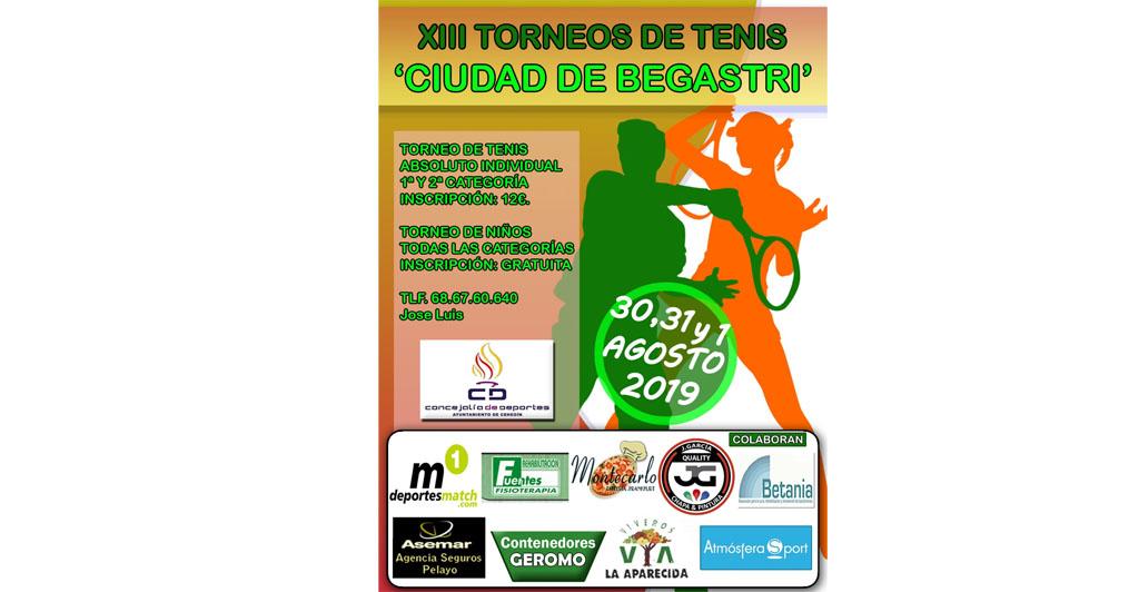 """La semana que viene se celebrará la XIII de los Torneos de Tenis """"Ciudad de Cehegín"""""""