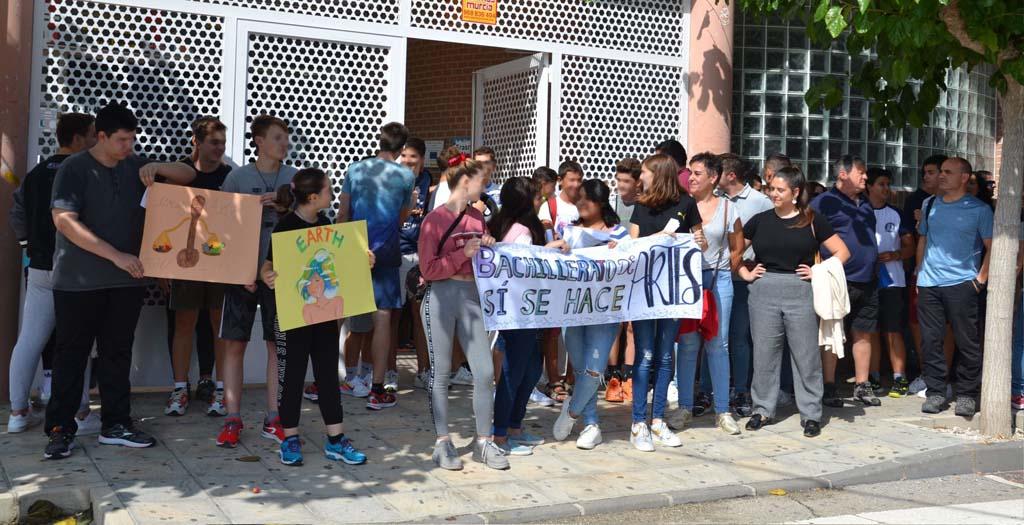 No habrá Bachillerato de Artes en el Pérez Piñero de Calasparra