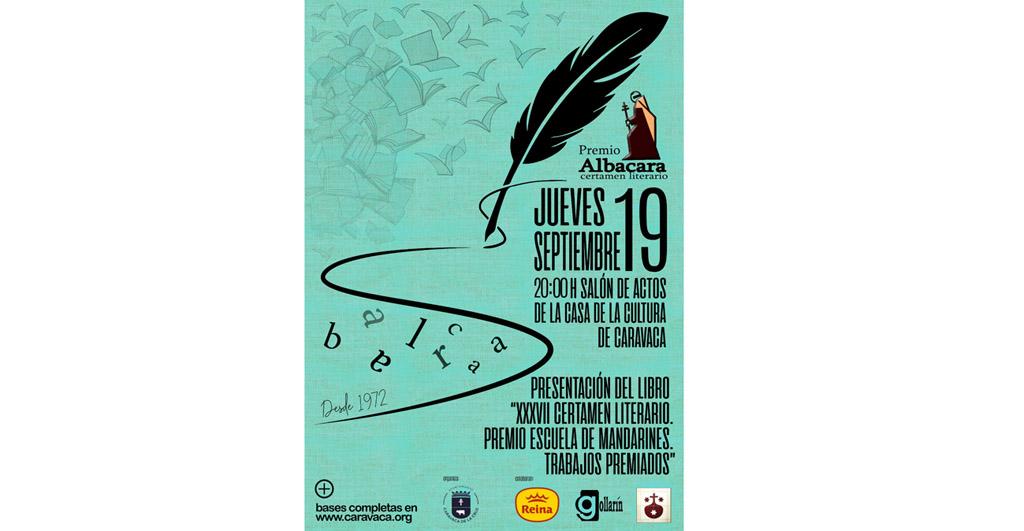 Gollarín presenta este jueves el libro que reúne las obras ganadoras de la línea 'Escuela de Mandarines' '18, del Premio Albacara