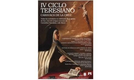 Conferencias, música renacentista y lectura de obras de Santa Teresa forman el programa del IV Ciclo Teresiano de Caravaca de la Cruz