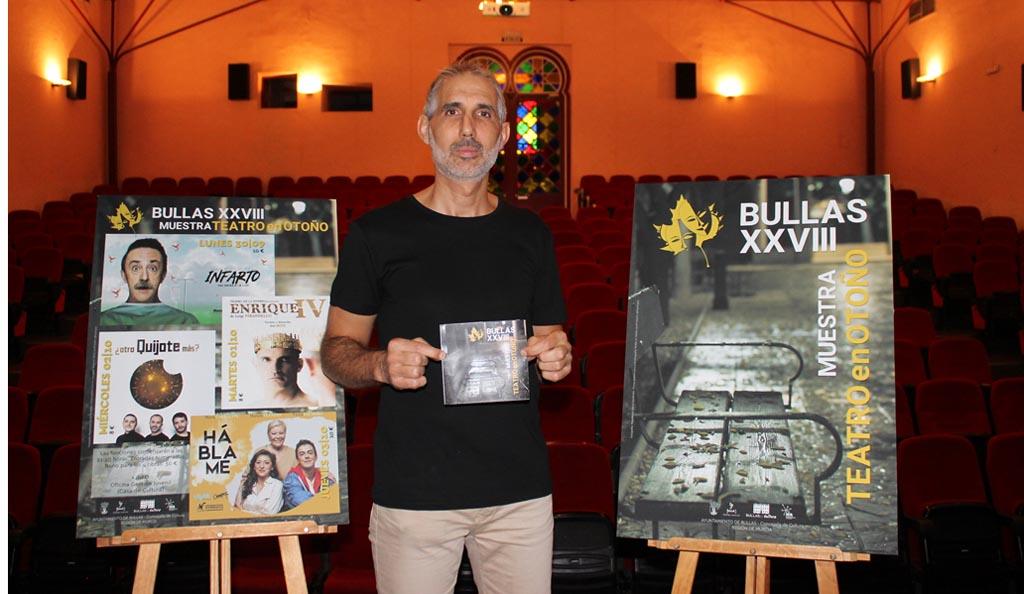 Bullas celebra su semana más cultural con la XXVIII Muestra de Teatro en Otoño