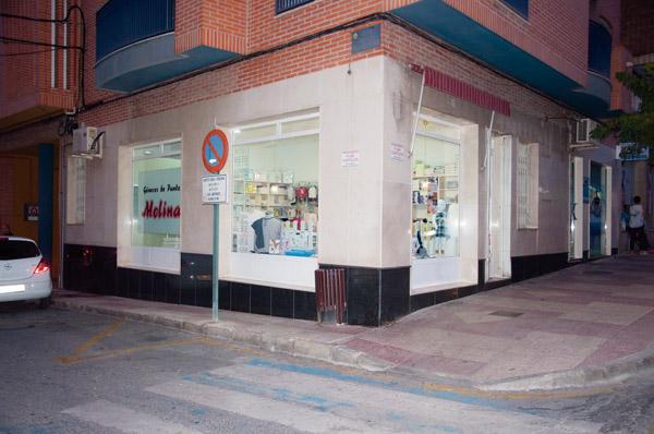 Fechada nueva tienda Generos de punto Molina